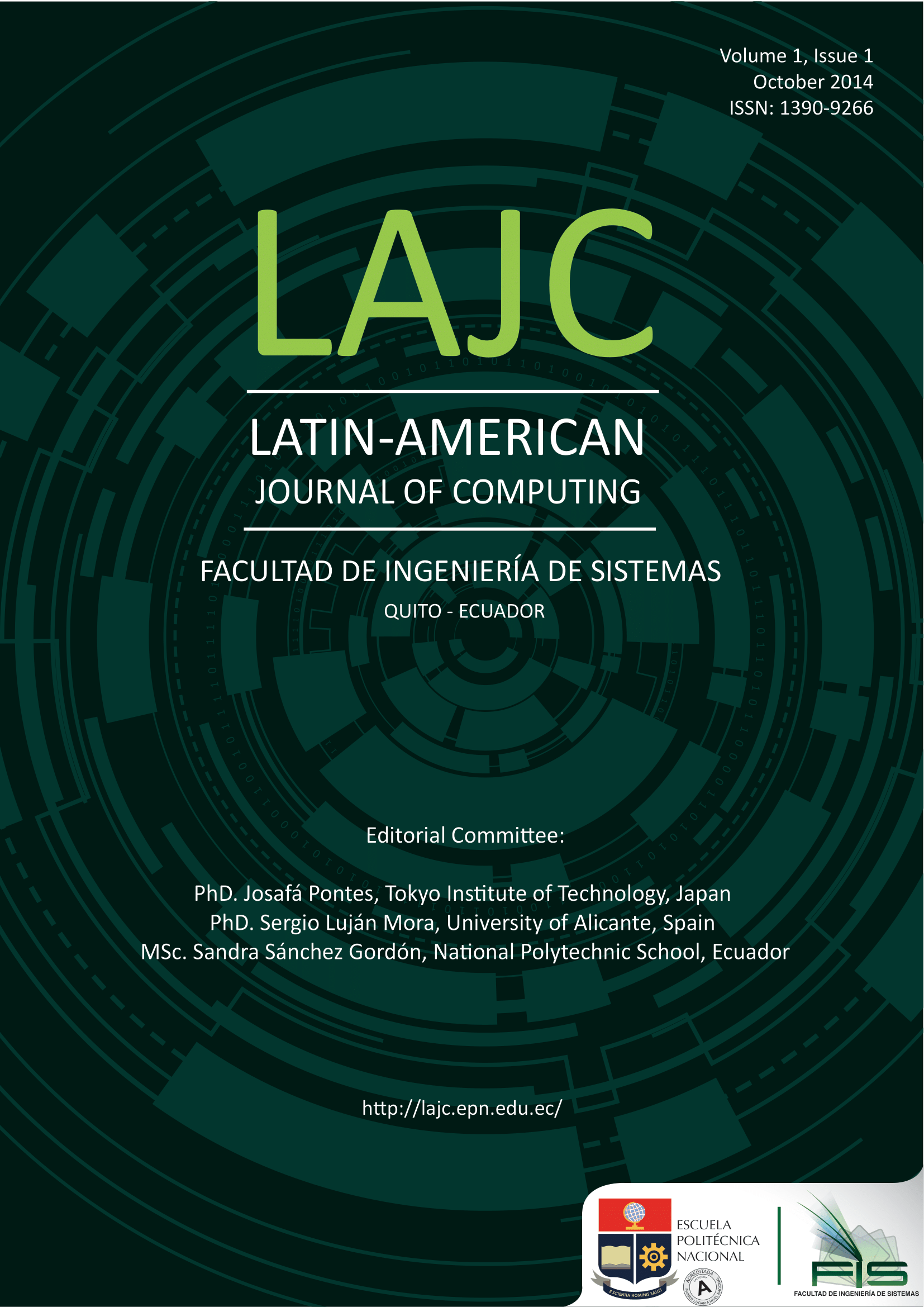 Cover Vol 1, No 1 (2014)